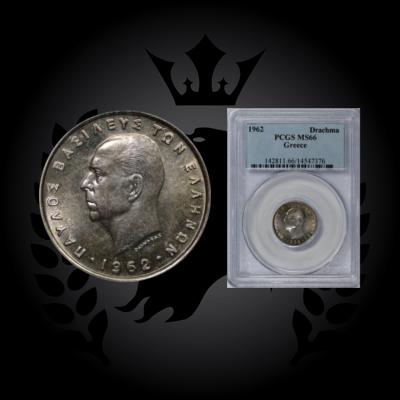 1962-drachma-PCGS-MS66-WORLD-COINS-GREECE-PLANET-NUMISMATICS.2