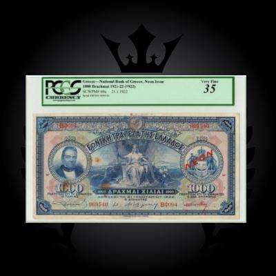 1922-1000-drachmai-neon-pmg-35-greece-banknotes-planet-numismatics.obv.1