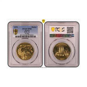 Greece, 1979 Medal, Gold 25.08grams, EOK, PCGS SP68