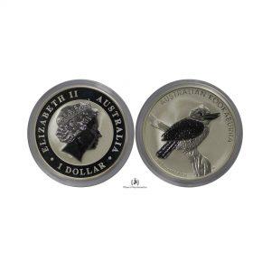 Australia, 2010 Silver 1 oz, Kookaburra, BU