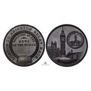 Great Britain, (ND) Brighton Relay Race Bronze Medal